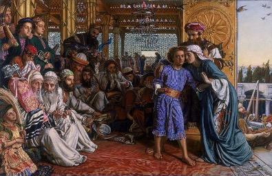 Wiliam Holman Hunt, Odnalezienie Jezusa w świątyni (1854-60)