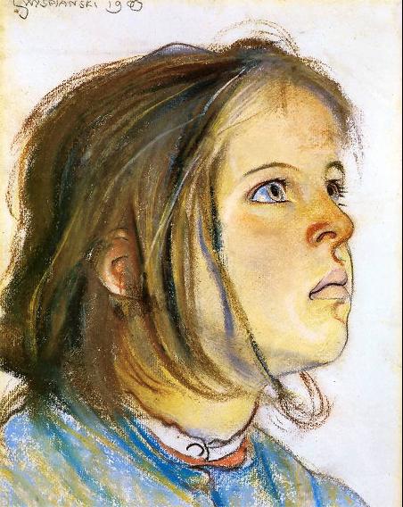 Stanisław Wyspiański – portret dziecka