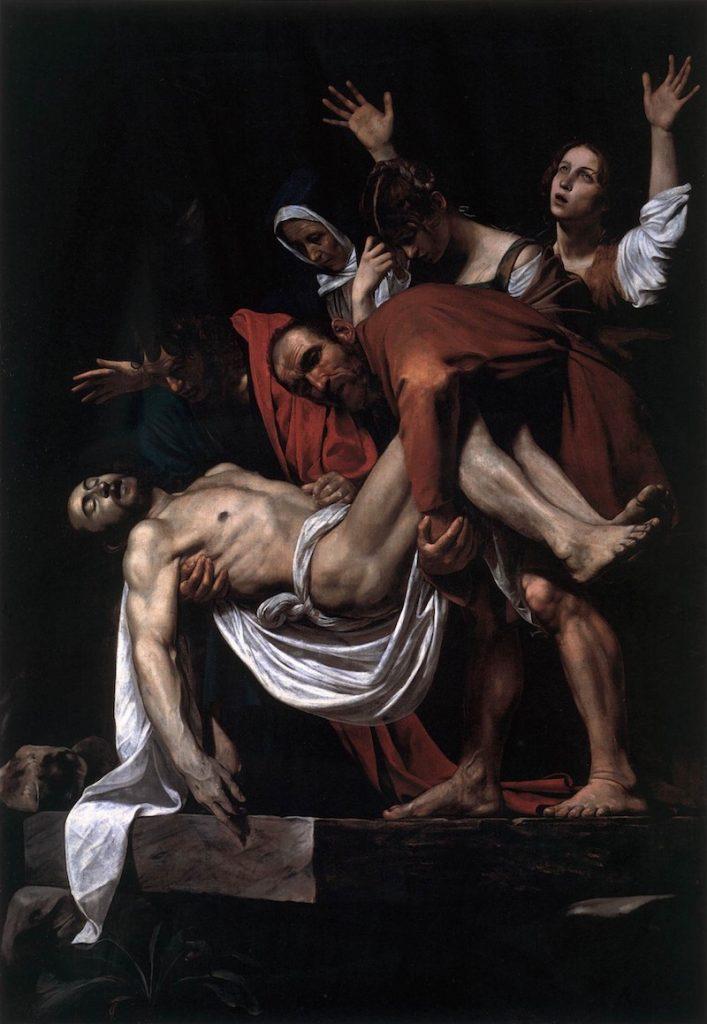 Caravaggio-złożenie do grobu