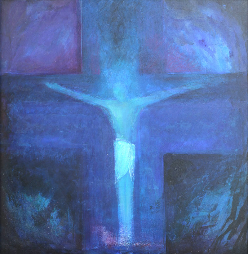 Ninetta Sombart - Jezus Chrystus umiera na krzyżu świata
